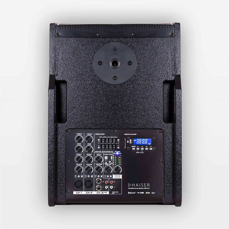 HAISER HSR 212 Portable Array SystemAktiv400 W RMSBluetoothUSBSD