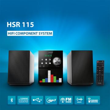 HAISER ® HiFi Component System HSR 115 (B-Ware)