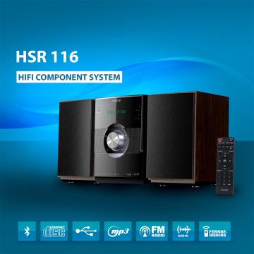 HAISER ® Hi-Fi Component System HSR 116 (B-Ware)