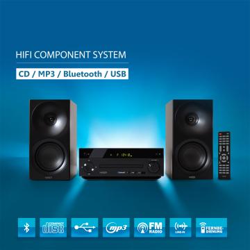 HAISER ® Hi-Fi Component System HSR 118 (B-Ware)