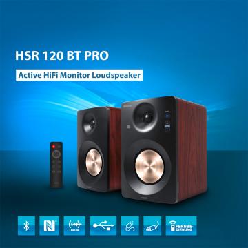 HAISER ® Studio-/Regallautsprecher Paar HSR 120 BT PRO