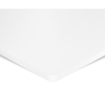 ESMART TPL-126W Tischplatte 120 x 60 cm, MDF, Weiß