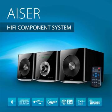 AISER ® HiFi Component System HSR 114 (B-Ware)