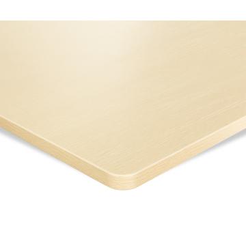 ESMART TPL-168O Tischplatte 160 x 80 cm, MDF, Eiche hell Dekor